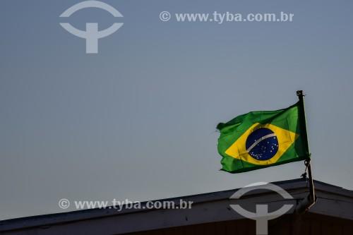 Bandeira do Brasil - Porto Alegre - Rio Grande do Sul (RS) - Brasil