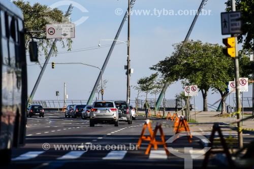 Orla do Guaíba fechada por determinação da prefeitura durante a crise do Coronavírus  - Porto Alegre - Rio Grande do Sul (RS) - Brasil