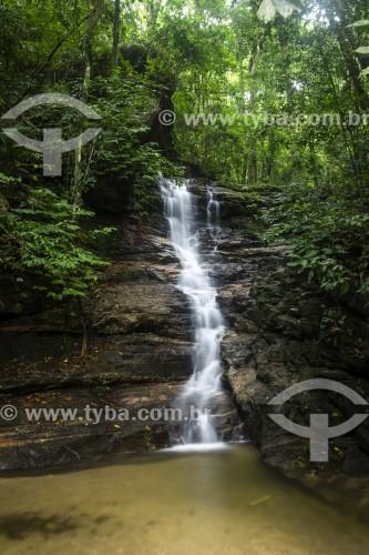 Cascata Baronesa no Parque Nacional da Tijuca  - Rio de Janeiro - Rio de Janeiro (RJ) - Brasil