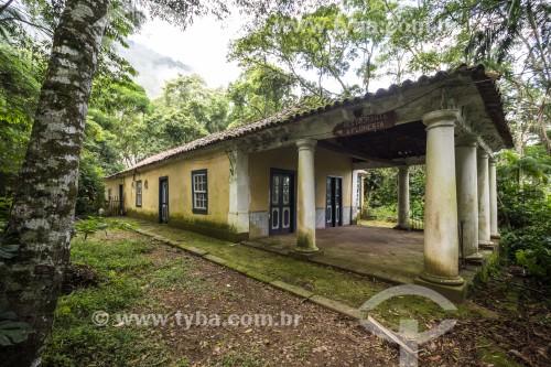 Fachada do restaurante A Floresta no Parque Nacional da Tijuca  - Rio de Janeiro - Rio de Janeiro (RJ) - Brasil