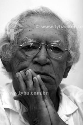 Poeta Thiago de Mello Uso editorial e didático mediante consulta - Manaus - Amazonas (AM) - Brasil