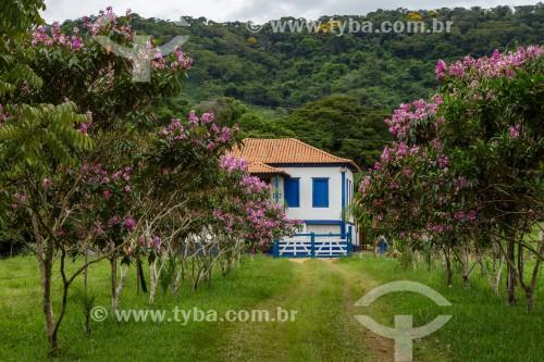 Casarão colonial de antiga fazenda - Guarani - Minas Gerais (MG) - Brasil