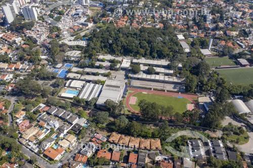 Foto feita com drone do Colégio Visconde de Porto Seguro - São Paulo - São Paulo (SP) - Brasil