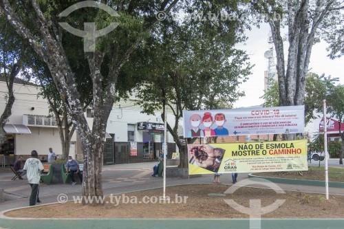 Praça Coronel José Vieira - Paraisópolis - Minas Gerais (MG) - Brasil