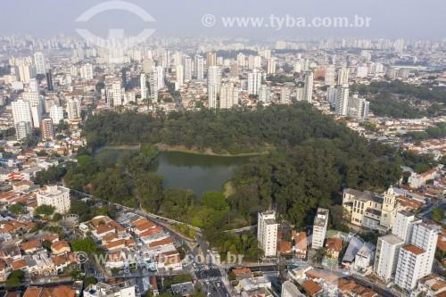 Foto feita com drone do Parque da Aclimação - São Paulo - São Paulo (SP) - Brasil