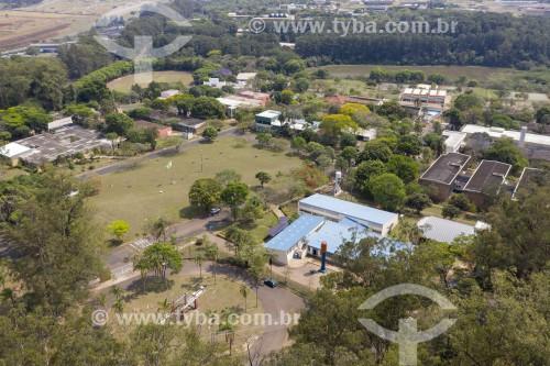 Foto feita com drone da UFESCAR - Universidade Federal de São Carlos - São Carlos - São Paulo (SP) - Brasil