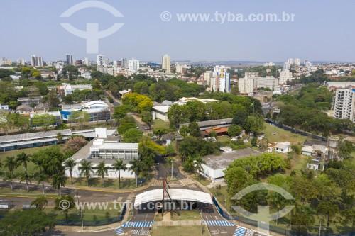 Foto feita com drone da USP - Universidade de São Paulo - Campus São Carlos - São Carlos - São Paulo (SP) - Brasil