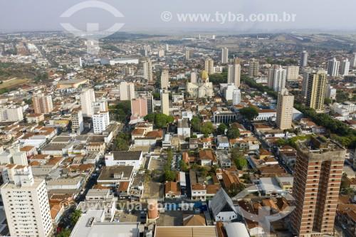 Foto feita com drone da cidade de Araraquara - Araraquara - São Paulo (SP) - Brasil