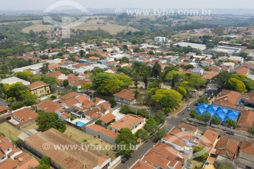 Foto feita com drone da Centro de Brotas - Brotas - São Paulo (SP) - Brasil
