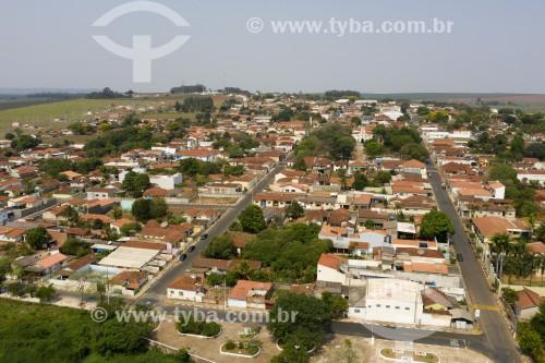 Foto feita com drone de Santa Maria da Serra - Santa Maria da Serra - São Paulo (SP) - Brasil