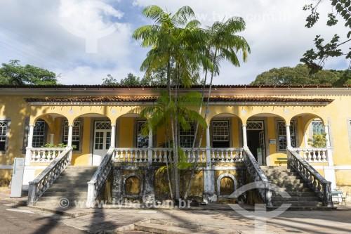 Antigo Solar da Imperatriz (1575) - atual Escola Nacional de Botânica Tropical do Jardim Botânico do Rio de Janeiro - Rio de Janeiro - Rio de Janeiro (RJ) - Brasil
