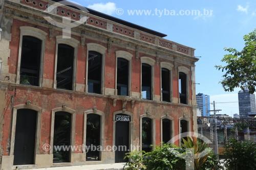 Hotel Cassina (1899) na praça Dom Pedro I - Manaus - Amazonas (AM) - Brasil
