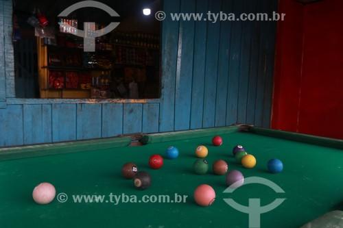 Mesa de sinuca em bar - Manaus - Amazonas (AM) - Brasil