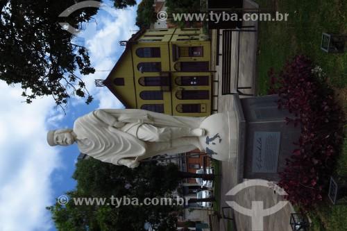 Monumento em homenagem a Giuseppe Garibaldi - Praça Garibaldi - Antônio Prado - Rio Grande do Sul (RS) - Brasil