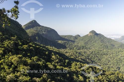 Vista do Pico da Tijuca  - Parque Nacional da Tijuca - Rio de Janeiro - Rio de Janeiro (RJ) - Brasil
