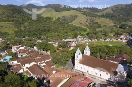 Foto feita com drone da Paróquia São Francisco Xavier na Praça Cônego Antônio Manzi - São José dos Campos - São Paulo (SP) - Brasil