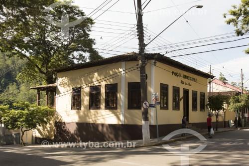 Paço Municipal na Praça Deputado Cunha Bueno - Monteiro Lobato - São Paulo (SP) - Brasil