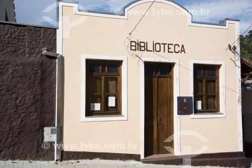 Biblioteca municipal - Monteiro Lobato - São Paulo (SP) - Brasil