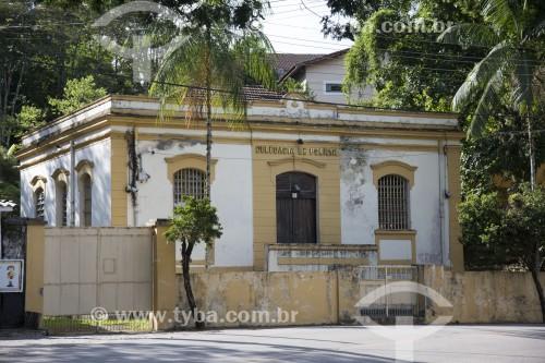 Casarão histórico utilizado como delegacia - Monteiro Lobato - São Paulo (SP) - Brasil
