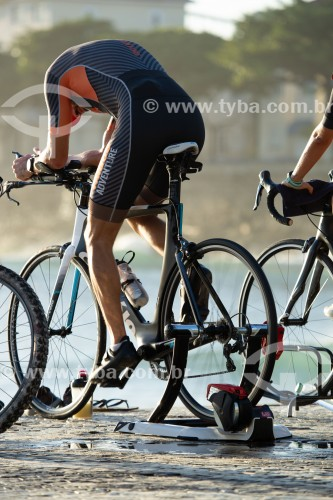 Treinamento de bicicleta fixa para Triathlon - Rio de Janeiro - Rio de Janeiro (RJ) - Brasil
