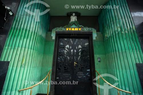 Fachada do Edifício Itahy (1932) na Avenida Nossa Senhora de Copacabana - Rio de Janeiro - Rio de Janeiro (RJ) - Brasil