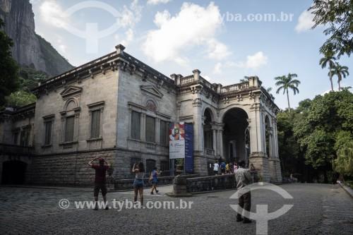 Prédio da Escola de Artes Visuais do Parque Henrique Lage - mais conhecido como Parque Lage - Rio de Janeiro - Rio de Janeiro (RJ) - Brasil