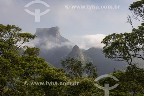 Vista a partir da Pedra da Proa com a Pedra da Gávea ao fundo  - Rio de Janeiro - Rio de Janeiro (RJ) - Brasil
