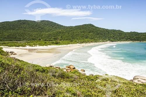 Praia dos Naufragados - Florianópolis - Santa Catarina (SC) - Brasil