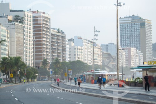 Vista da Avenida Atlântica - Posto 5 - Rio de Janeiro - Rio de Janeiro (RJ) - Brasil
