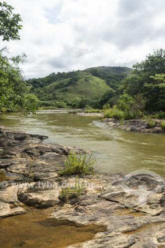 Vista do Rio Paraíba do Sul - Vassouras - Rio de Janeiro (RJ) - Brasil