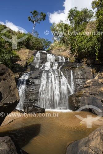 Vista da Cachoeira de Aliança - Vassouras - Rio de Janeiro (RJ) - Brasil