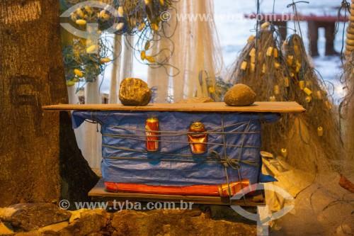 Isopor para venda de cerveja - Colônia de pescadores Z-13 - no Posto 6 da Praia de Copacabana - Rio de Janeiro - Rio de Janeiro (RJ) - Brasil