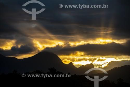 Pôr do do sol em Joinville - Joinville - Santa Catarina (SC) - Brasil