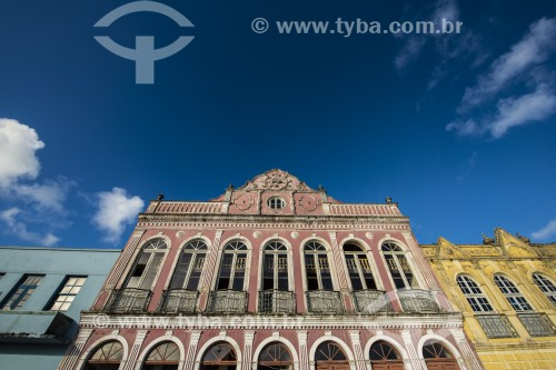 Prédios no centro histórico - São Francisco do Sul - Santa Catarina (SC) - Brasil
