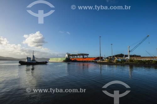 Porto de São Francisco do Sul - São Francisco do Sul - Santa Catarina (SC) - Brasil