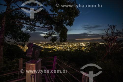 Pôr do sol no Mirante do Morro da Boa Vista - Joinville - Santa Catarina (SC) - Brasil
