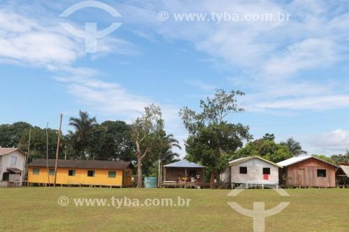 Casas na Comunidade Santa Helena do Inglês - Iranduba - Amazonas (AM) - Brasil