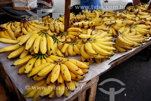 Bananas à venda na feira da Glória - Rio de Janeiro - Rio de Janeiro (RJ) - Brasil
