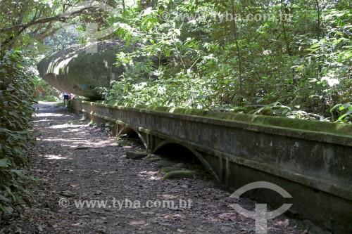 Aqueduto (1908) - Represa do Pau da Fome - Parque Estadual da Pedra Branca - Rio de Janeiro - Rio de Janeiro (RJ) - Brasil