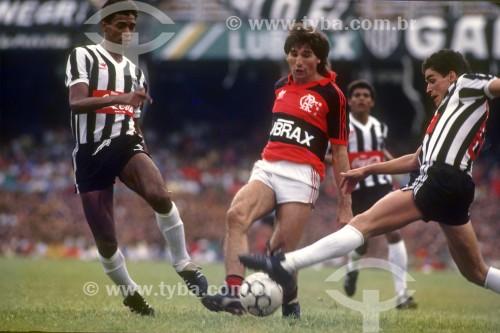 Partida de futebol Flamengo x Atlético Mineiro - Renato Gaucho - Jogador de futebol - Rio de Janeiro - Rio de Janeiro (RJ) - Brasil