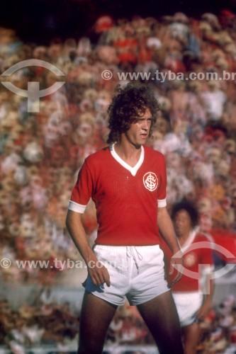 Falcão - Jogador de Futebol - Sport Club Internacional - Anos 70 - Porto Alegre - Rio Grande do Sul (RS) - Brasil