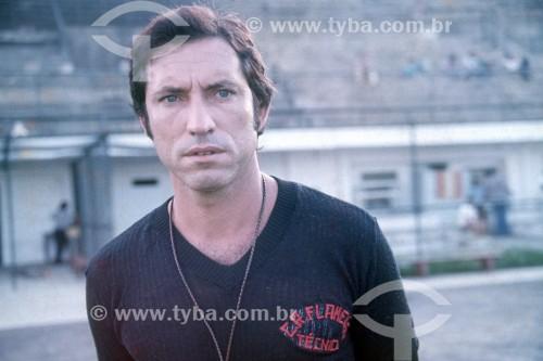 Claudio Coutinho - Técnico de Futebol do Clube de Regatas do Flamengo - Anos 70 - Rio de Janeiro - Rio de Janeiro (RJ) - Brasil