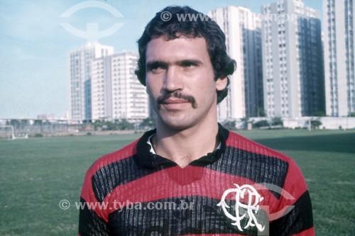 Rondinelli - Jogador de futebol no Clube de Regatas do Flamengo - Anos 70 - Rio de Janeiro - Rio de Janeiro (RJ) - Brasil