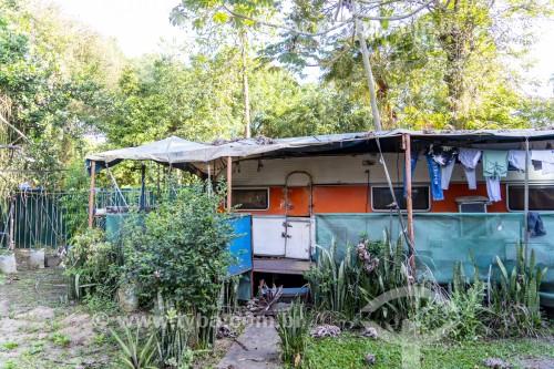 Unicirco Marcos Frota - Parque da Quinta da Boa Vista - Trailer residência de artistas do circo - Rio de Janeiro - Rio de Janeiro (RJ) - Brasil
