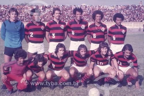 Time do Clube de Regatas do Flamengo - Rio de Janeiro - Rio de Janeiro (RJ) - Brasil