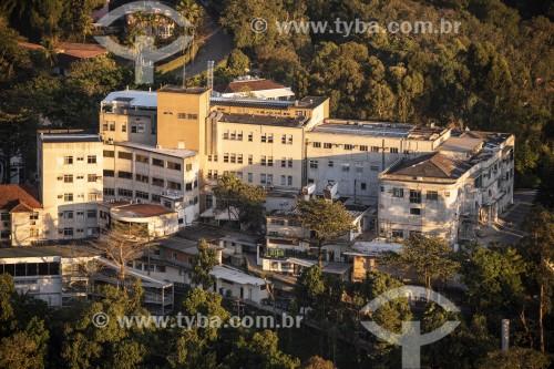 Hospital Adventista Silvestre visto do Mirante Dona Marta - Rio de Janeiro - Rio de Janeiro (RJ) - Brasil