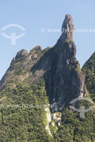 Vista do Pico Dedo de Deus no Parque Nacional da Serra dos Órgãos - Teresópolis - Rio de Janeiro (RJ) - Brasil