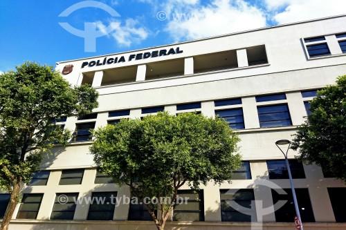 Prédio do Departamento de Polícia Federal - Superintendência Regional do Rio de Janeiro (DPF / SR-RJ) - Rio de Janeiro - Rio de Janeiro (RJ) - Brasil