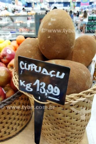 Cupuaçu à venda em supermercado - Rio de Janeiro - Rio de Janeiro (RJ) - Brasil