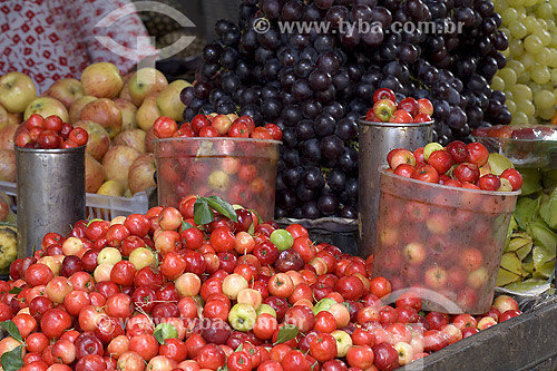 Frutas na Feira de São Joaquim - Salvador - BA - Brasil  - Salvador - Bahia - Brasil